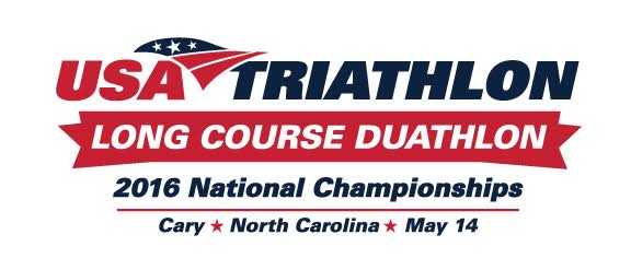 USAT Long Course Duathlon Nationals Logo